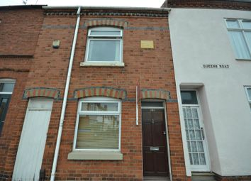 Thumbnail 2 bed terraced house for sale in Queens Road, Leicester