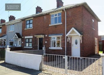 Thumbnail 2 bed end terrace house to rent in Frenchpark Street, Belfast