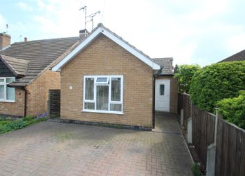 Thumbnail 2 bed detached bungalow for sale in Oakside Close, Leicester
