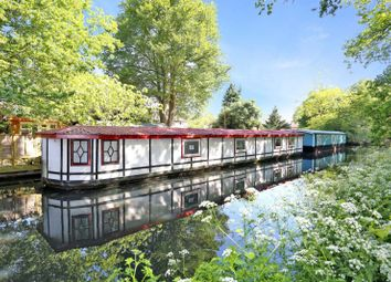 Thumbnail 1 bed houseboat for sale in Scotland Bridge Lock, Addlestone