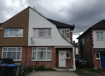 Thumbnail 3 bed semi-detached house to rent in First Avenue, Wembley