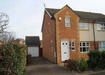 Thumbnail 3 bed semi-detached house to rent in Caspian Way, Swanscombe