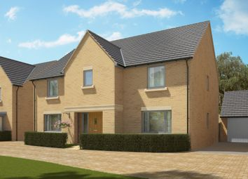 "Thumbnail 5 bed detached house for sale in ""The Wells"" at Heron Road, Northstowe, Cambridge"