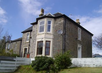 Thumbnail 2 bed flat to rent in William Street, Dunoon PA23,