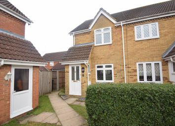 Thumbnail 2 bedroom end terrace house to rent in Wiseman Close, Luton