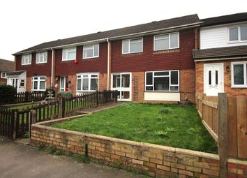 Thumbnail 3 bed terraced house to rent in Brendon Avenue, Walderslade, Chatham