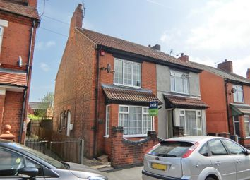 Thumbnail 3 bed semi-detached house for sale in Crescent Road, Hugglescote, Leicestershire