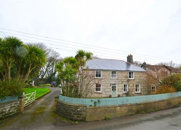 Thumbnail 6 bed detached house for sale in Wall Road, Gwinear, Hayle