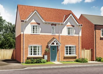 Thumbnail 3 bed detached house for sale in Lichfield A, Burton Road Tutbury, Staffordshire
