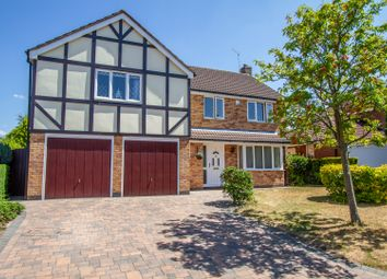 Thumbnail 5 bed detached house for sale in Knights Close, Burbage