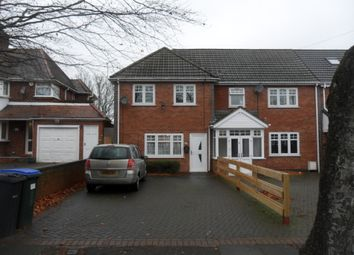 Thumbnail 4 bed semi-detached house to rent in Hamstead Road, Great Barr, Birmingham