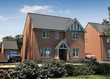 "Thumbnail 4 bedroom detached house for sale in ""The Berrington"" at Bishopsfield Road, Fareham"