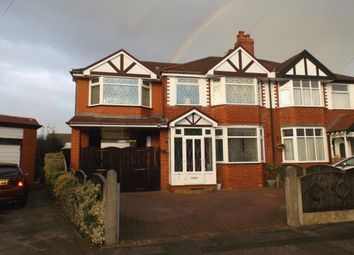 Thumbnail 4 bed semi-detached house for sale in Royal Avenue, Urmston, Manchester, Greater Manchester