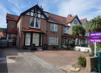 Thumbnail 1 bed flat for sale in St. Seiriols Road, Llandudno