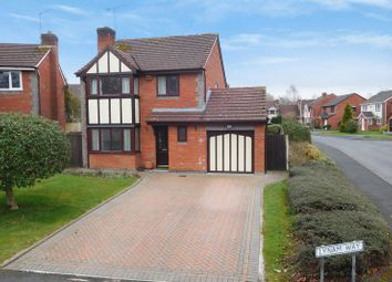 Thumbnail 4 bed detached house for sale in Lynam Way, Madeley, Crewe