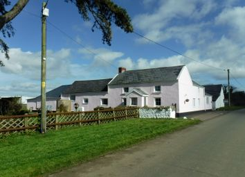 Thumbnail 4 bedroom equestrian property for sale in Cilonen Fawr Farm, Cilonen, Three Crosses
