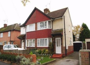 Thumbnail 3 bed semi-detached house to rent in Vale Road, Camberley