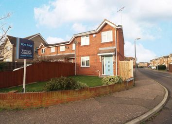 Thumbnail 3 bed end terrace house for sale in Red Barn Road, Brightlingsea, Colchester