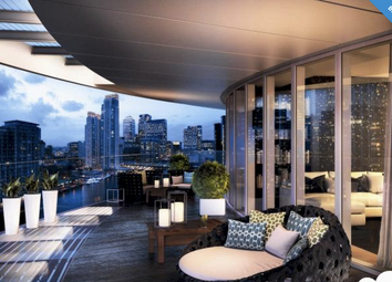 Thumbnail 1 bed flat for sale in Baltimore Tower, Canary Wharf, London