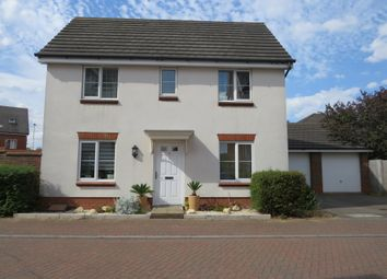 Thumbnail 3 bed detached house for sale in Pishmire Close, Norwich