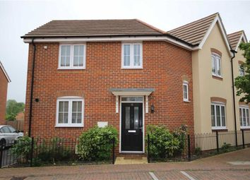 Thumbnail 3 bed semi-detached house for sale in Wheatcroft Way, Swindon