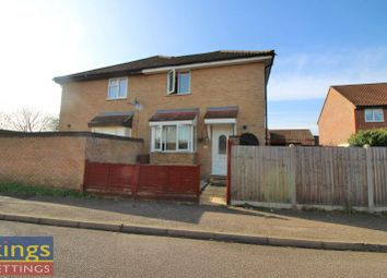 Thumbnail 1 bedroom end terrace house to rent in Leaforis Road, Cheshunt, Waltham Cross