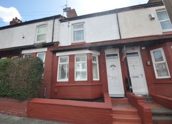 Thumbnail 2 bed terraced house to rent in Sherlock Lane, Wallasey