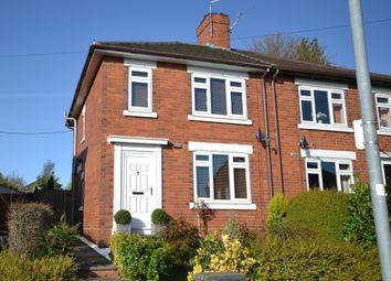 Thumbnail 2 bed semi-detached house for sale in Windsor Road, Hanford, Stoke-On-Trent