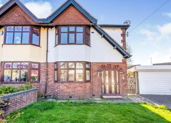 Thumbnail 3 bed semi-detached house for sale in East Avenue, Great Sankey, Warrington, Cheshire