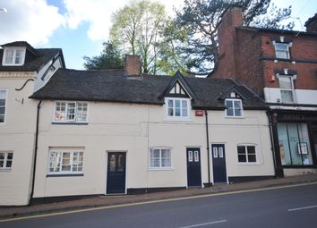 Thumbnail 1 bedroom terraced house to rent in Great Hales Street, Market Drayton