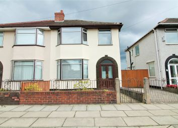 Thumbnail 3 bed semi-detached house for sale in Montgomery Road, Orrell Park, Liverpool