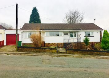Thumbnail 3 bed detached bungalow for sale in Heol Barri, Caerphilly