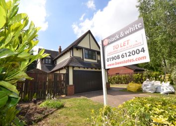 Thumbnail 4 bed detached house to rent in Shenley Lodge, Milton Keynes