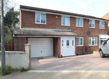 Thumbnail 4 bedroom semi-detached house for sale in Cherbourg Crescent, Chatham, Kent