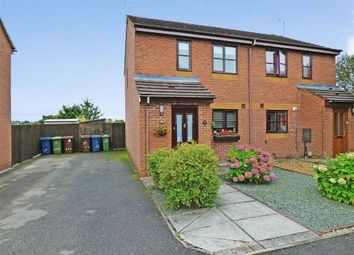 Thumbnail 2 bed semi-detached house for sale in Brooklime Gardens, Stafford