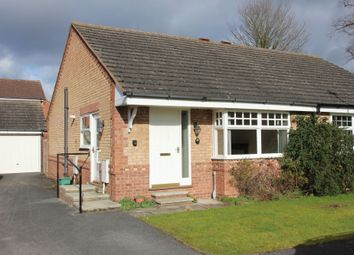 Thumbnail 2 bed semi-detached bungalow to rent in Hunters Close, Easingwold, York