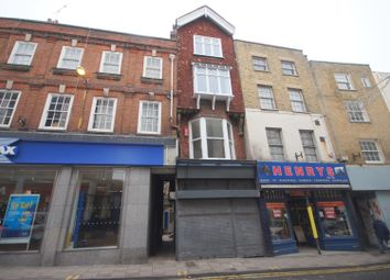 Thumbnail 3 bed flat to rent in High Street, Margate