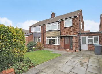 Thumbnail 3 bed semi-detached house for sale in Welwyn Close, Thelwall, Warrington