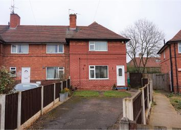 Thumbnail 2 bedroom end terrace house for sale in Brinsley Close, Nottingham