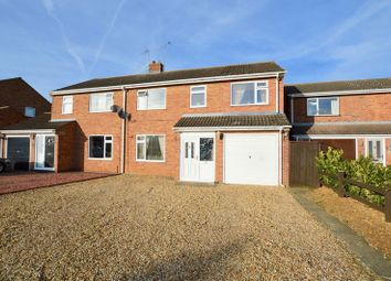 Thumbnail 4 bed semi-detached house for sale in Aberdeen Close, Stamford