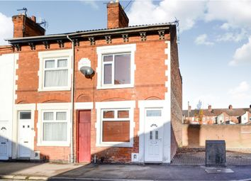 Thumbnail 2 bedroom end terrace house for sale in Bassett Street, South Wigston, Leicester