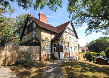 Thumbnail 3 bed flat for sale in Sandecotes Road, Lower Parkstone, Poole, Dorset