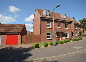 Thumbnail 5 bed detached house for sale in Nelson Drive, Little Plumstead, Norwich