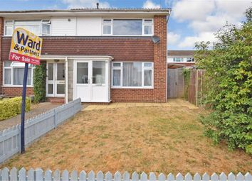 Thumbnail 2 bed end terrace house for sale in Lambourne Road, Maidstone, Kent