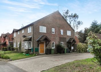 Thumbnail 1 bed terraced house to rent in Vindomis Close, Holybourne, Alton