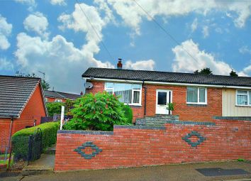 Thumbnail 3 bed semi-detached bungalow for sale in Hilary Road, Newbridge, Newport