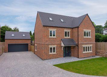 Thumbnail 5 bed detached house for sale in Worthington Lane, Newbold Coleorton, Coalville