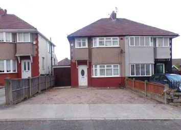 Thumbnail 3 bed semi-detached house for sale in Coronation Avenue, Liverpool, Merseyside, England