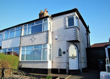 Thumbnail 3 bed semi-detached house for sale in Salcombe Avenue, Blackpool, Lancashire