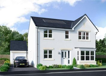 "Thumbnail 4 bed detached house for sale in ""Grant"" at Borthwick Castle Road, North Middleton, Gorebridge"